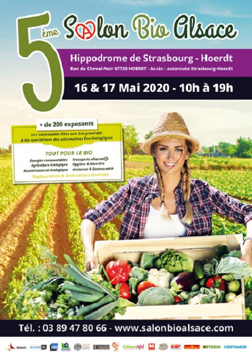 5ème Salon Bio Alsace - 16 & 17 Mai - Hippodrome de Strasbourg-Hoerdt