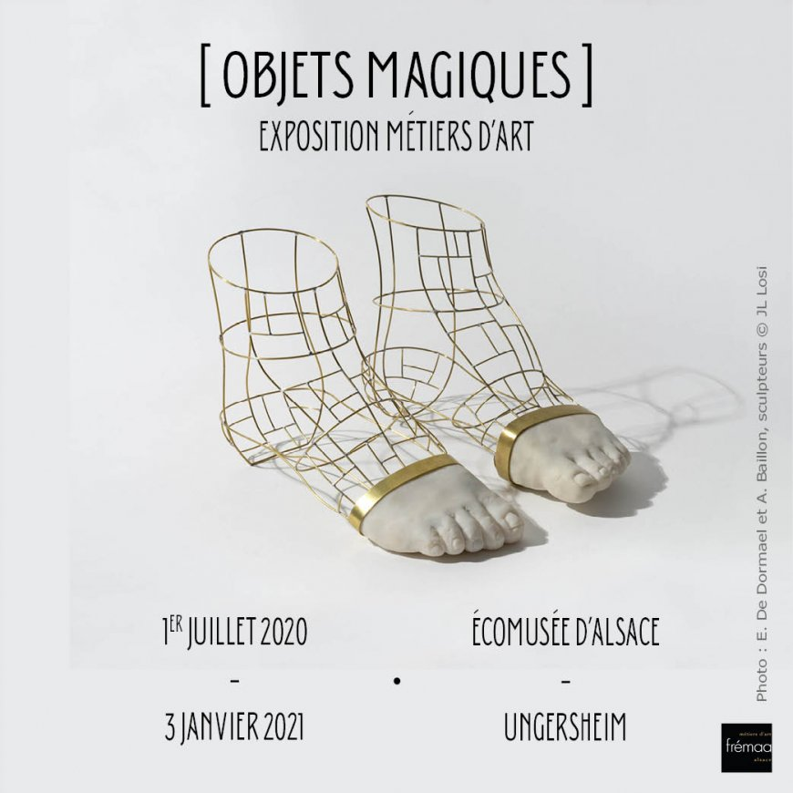 Exposition Objets Magiques  - Ungersheim