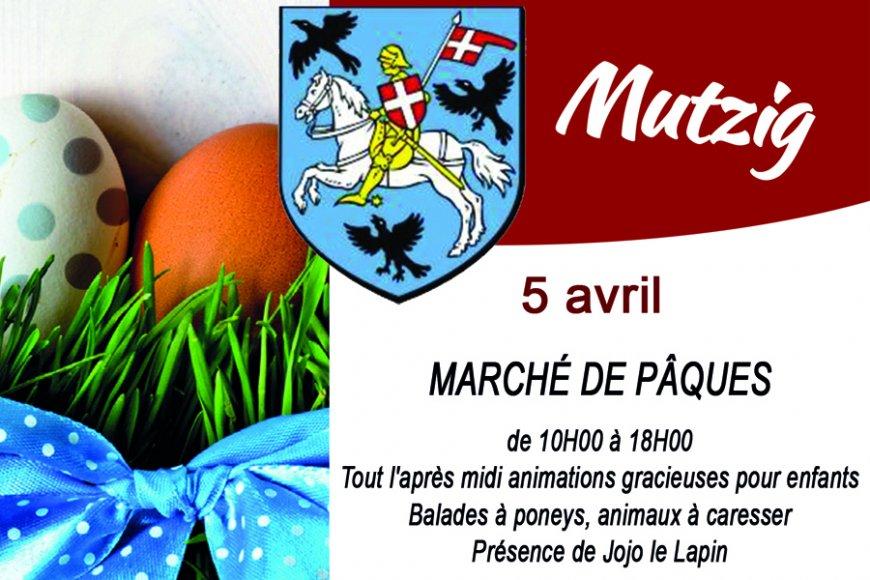 Marché de Pâques de Mutzig