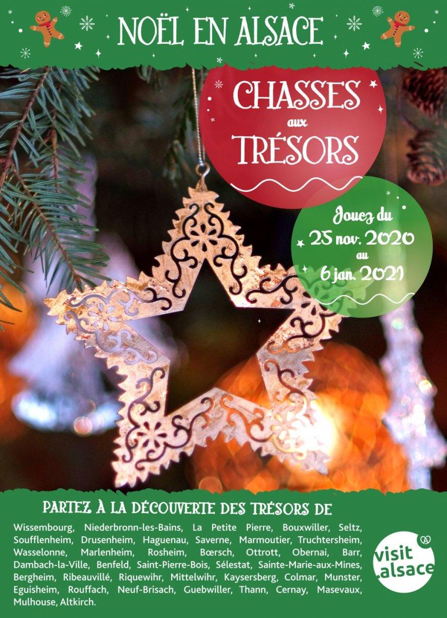 Chasse au trésor de Noël de Sainte-Marie-aux-Mines - Sainte-Marie-aux-Mines