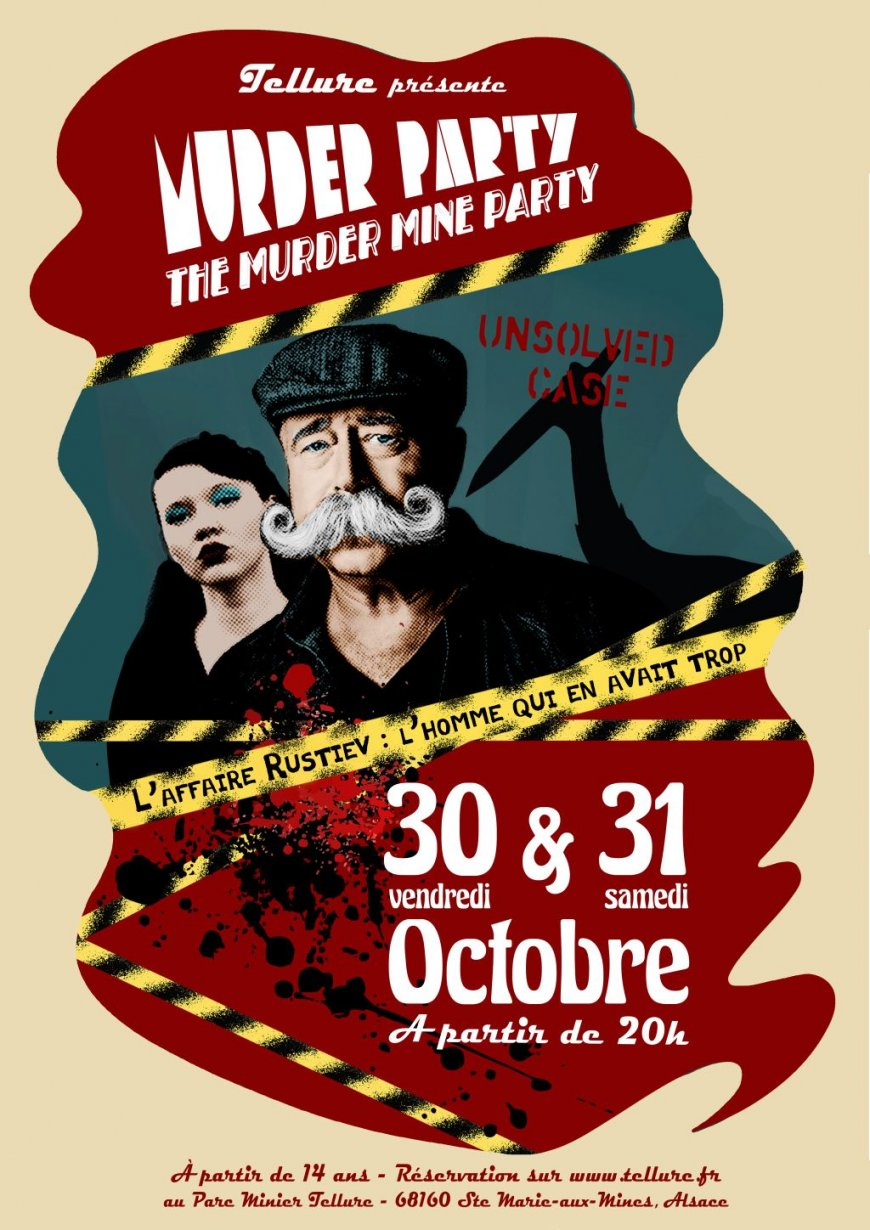 Tellure présente Murder Party : The Murder Mine Party