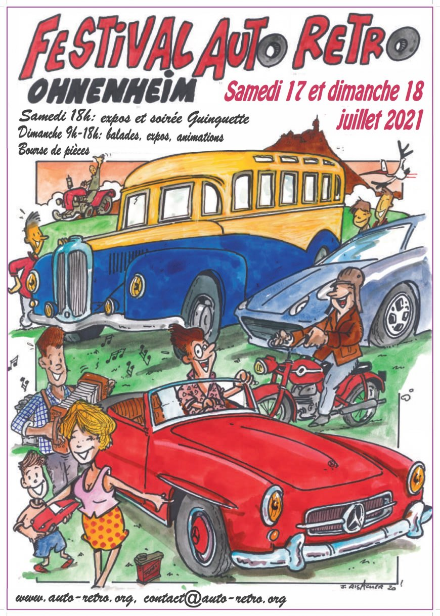10ème Festival Auto Rétro OHNENHEIM