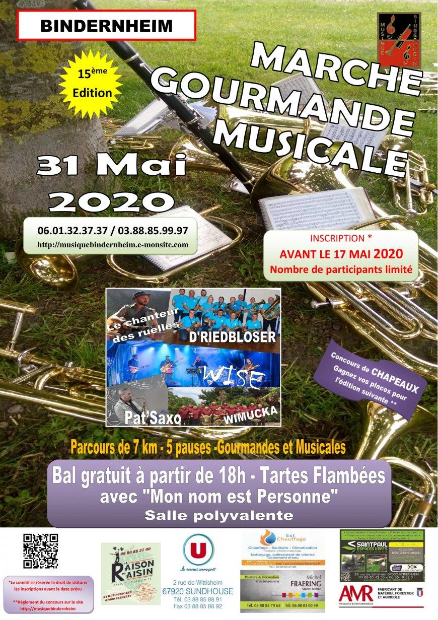 Marche Gourmande Musicale de BINDERNHEIM