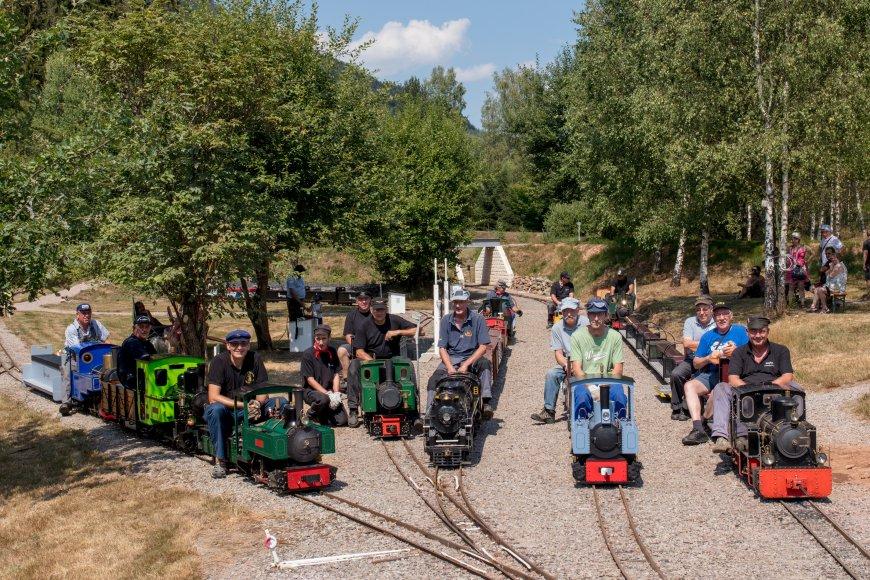 Rencontres nationales de modelistes ferroviaire en vapeur vive