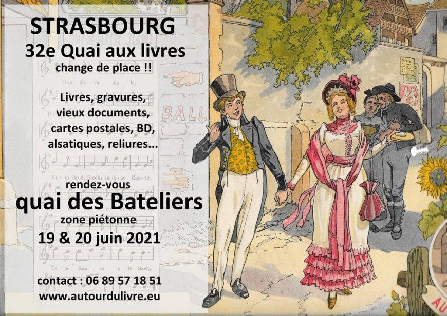 32e quai aux livres à Strasbourg
