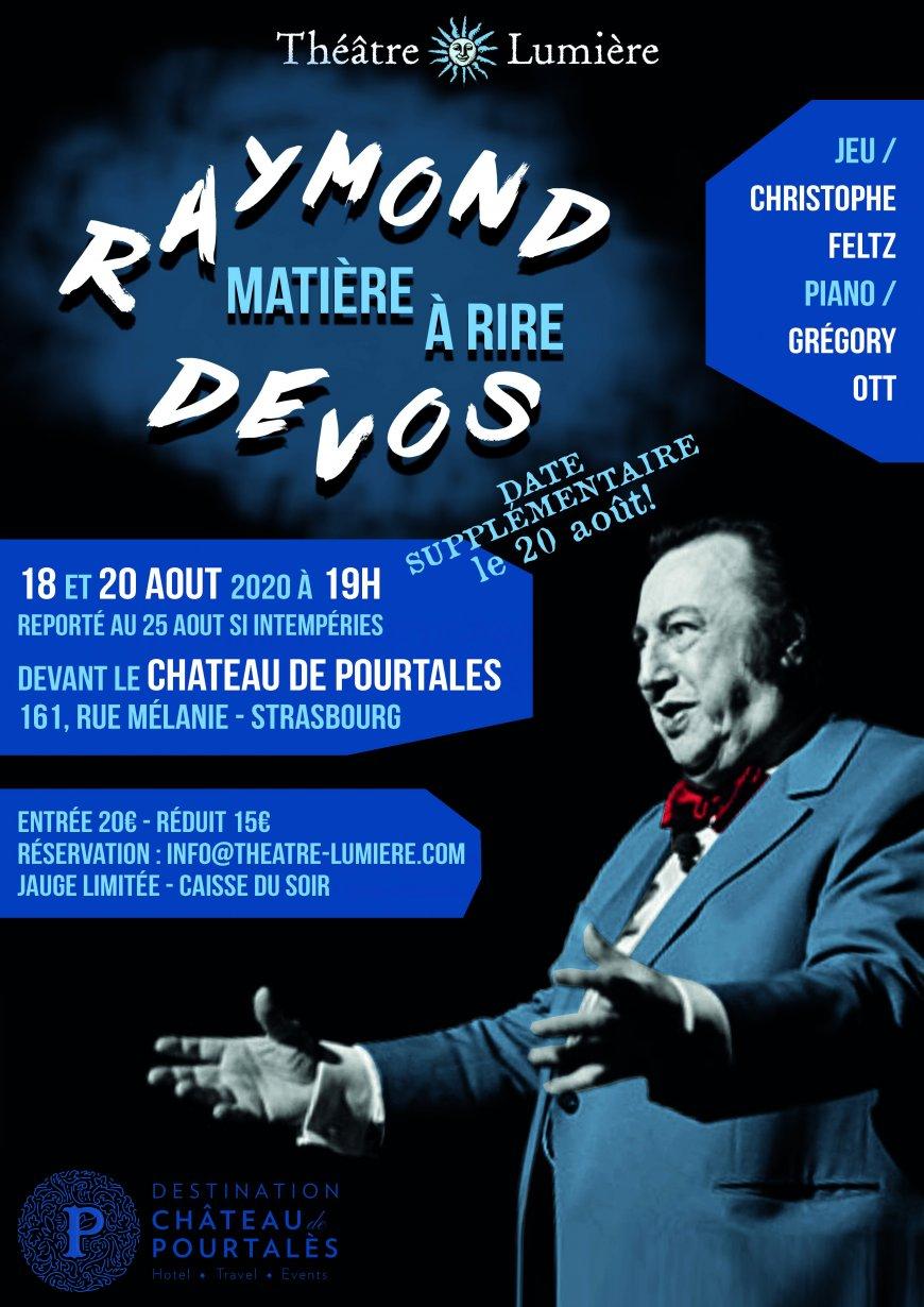 """Humour musical """"Matière à Rire"""" de Raymond Devos"""