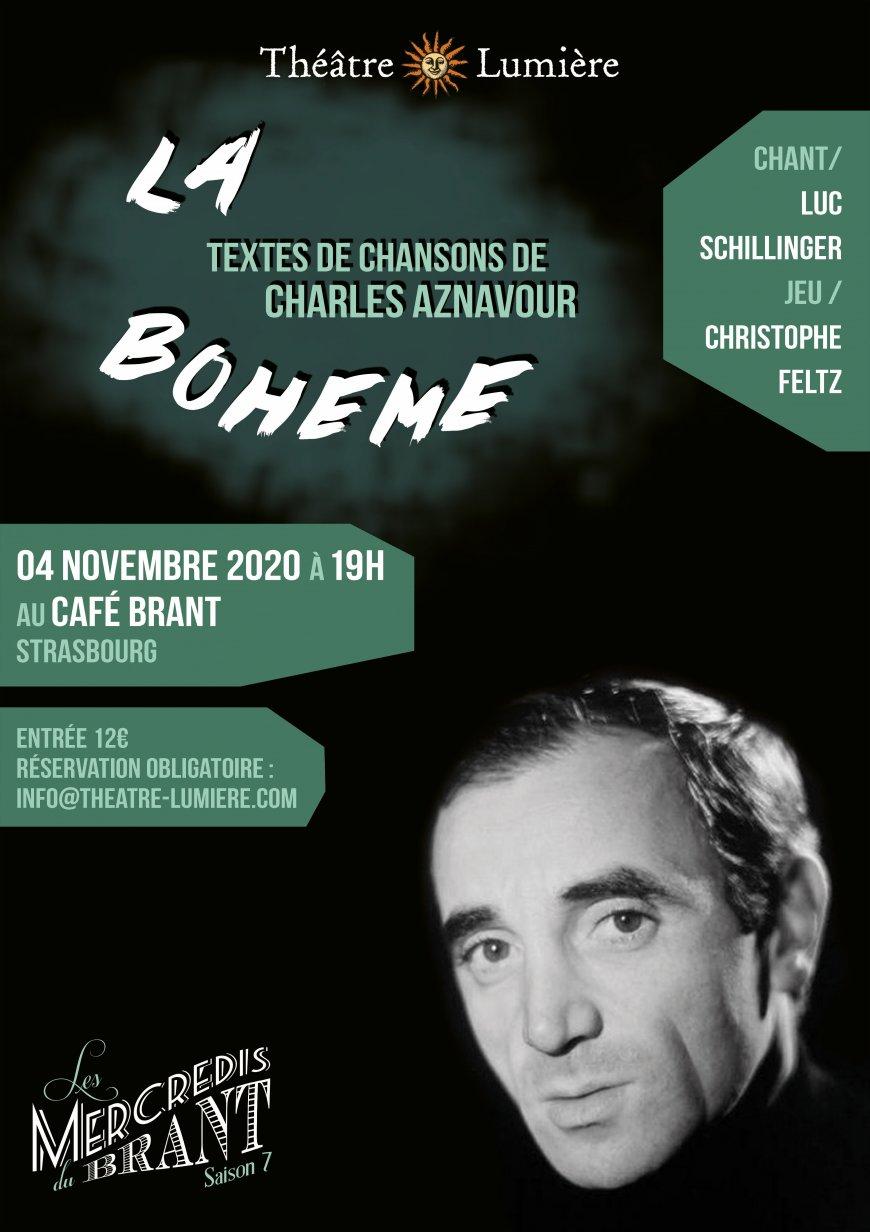 """Théâtre musical """"La Bohème"""" d'après Charles Aznavour"""