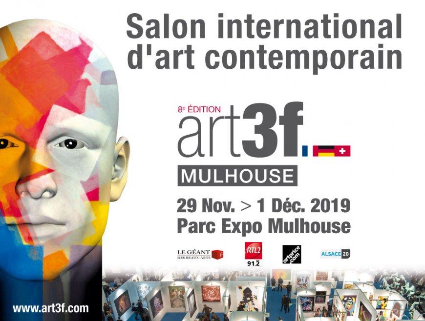 art3f Mulhouse salon international d'art contemporain