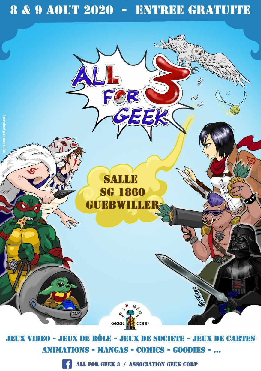 All For Geek 3