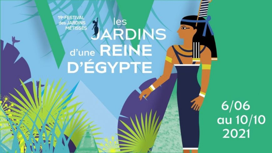 Les jardins d'une reine d'Egypte