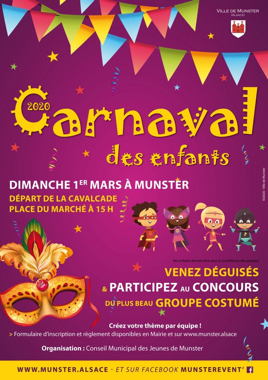 Carnaval des enfants à Munster