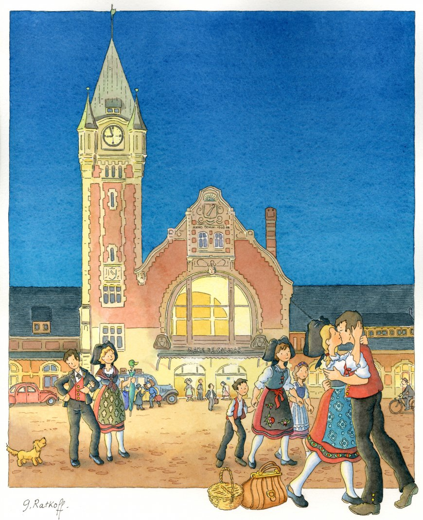 Exposition de peintures Georges Ratkoff