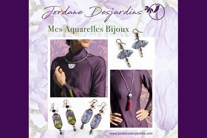 """Une ligne de bijoux """"Jordane Desjardins"""""""